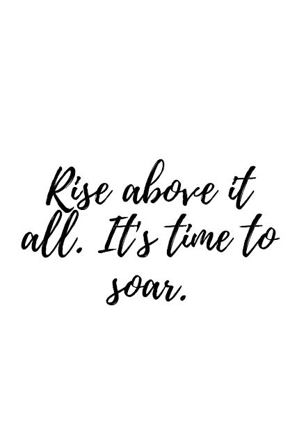 It's time to soar.