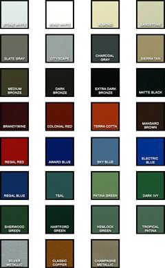 colors of metal roofing | Images of Metal Roof Standing Seam Colors