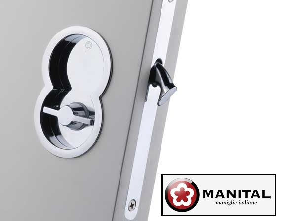 Manital Otto Designer Sliding Pocket Door Bathroom Lock Set Sliding Pocket Doors Pocket Doors Bathroom Sliding Bathroom Doors