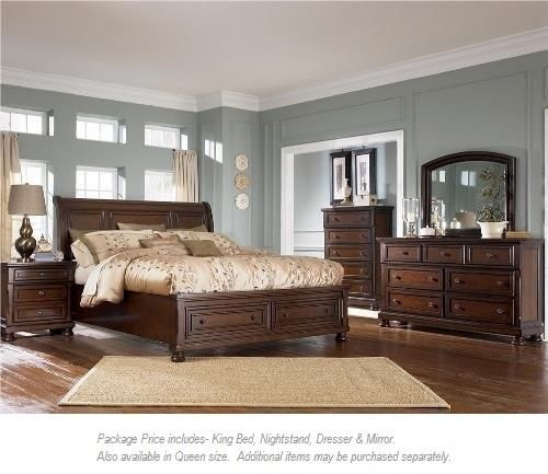 Porter 4pc King Bedroom Group By Ashley Furniture Bedroom