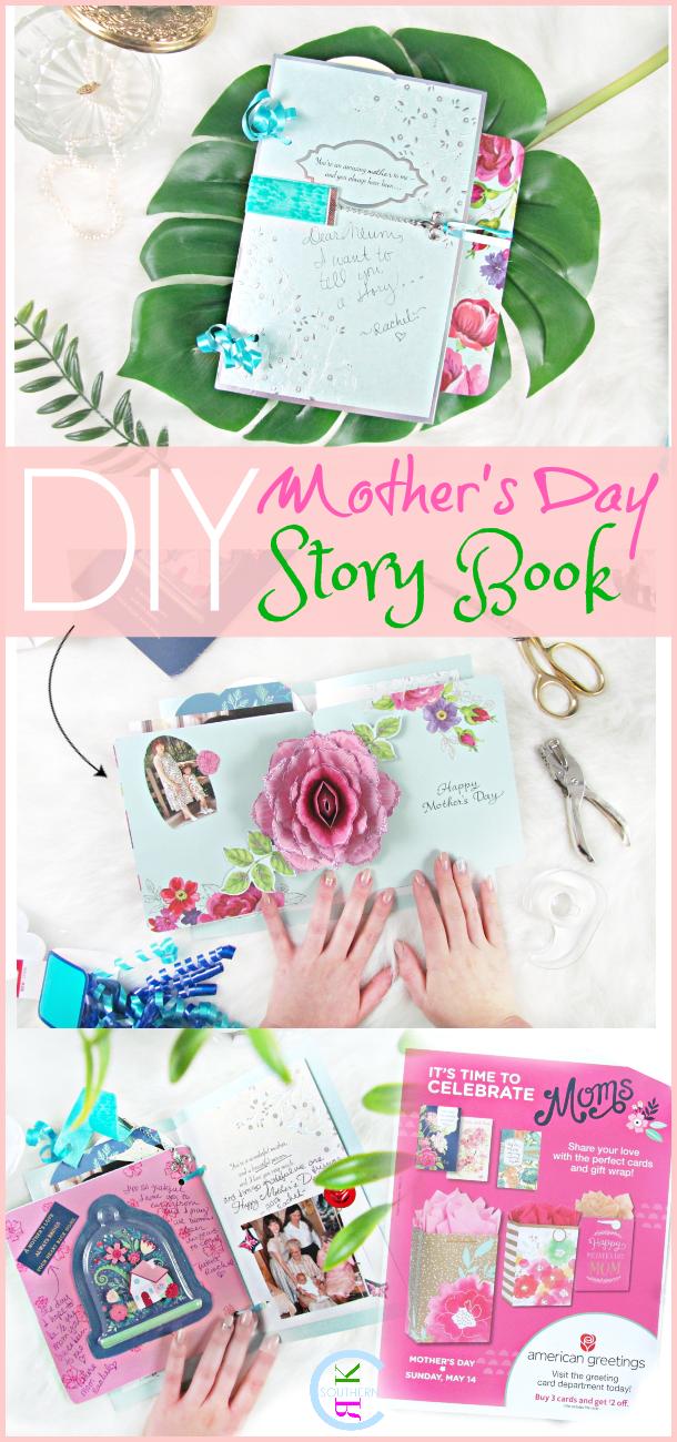 Diy Keepsake Mothers Day Story Book Tutorial With Aafes American