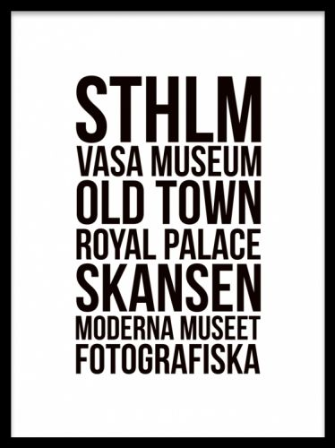 stockholm tavla text