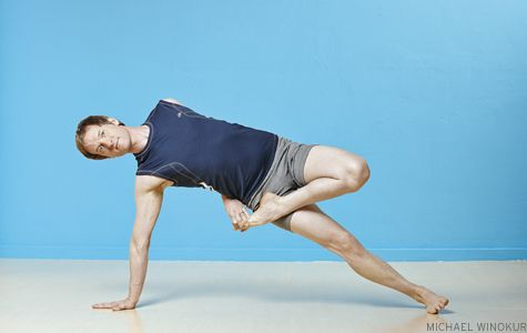 4 poses to build up to the tricky kasyapasana pose  via