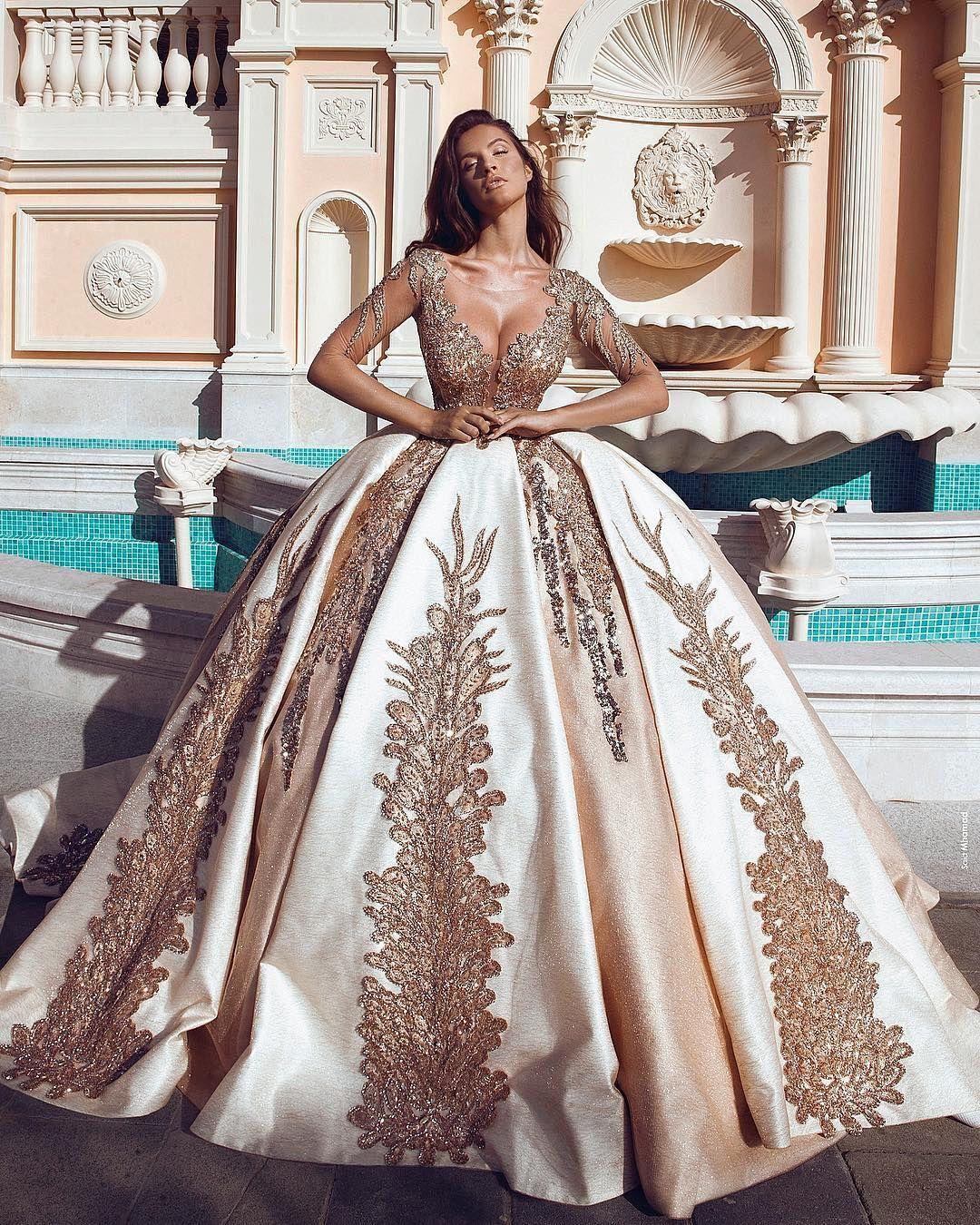 Most Beautiful Short Wedding Dresses: @parukeri_estetike_merita Wedding Gown