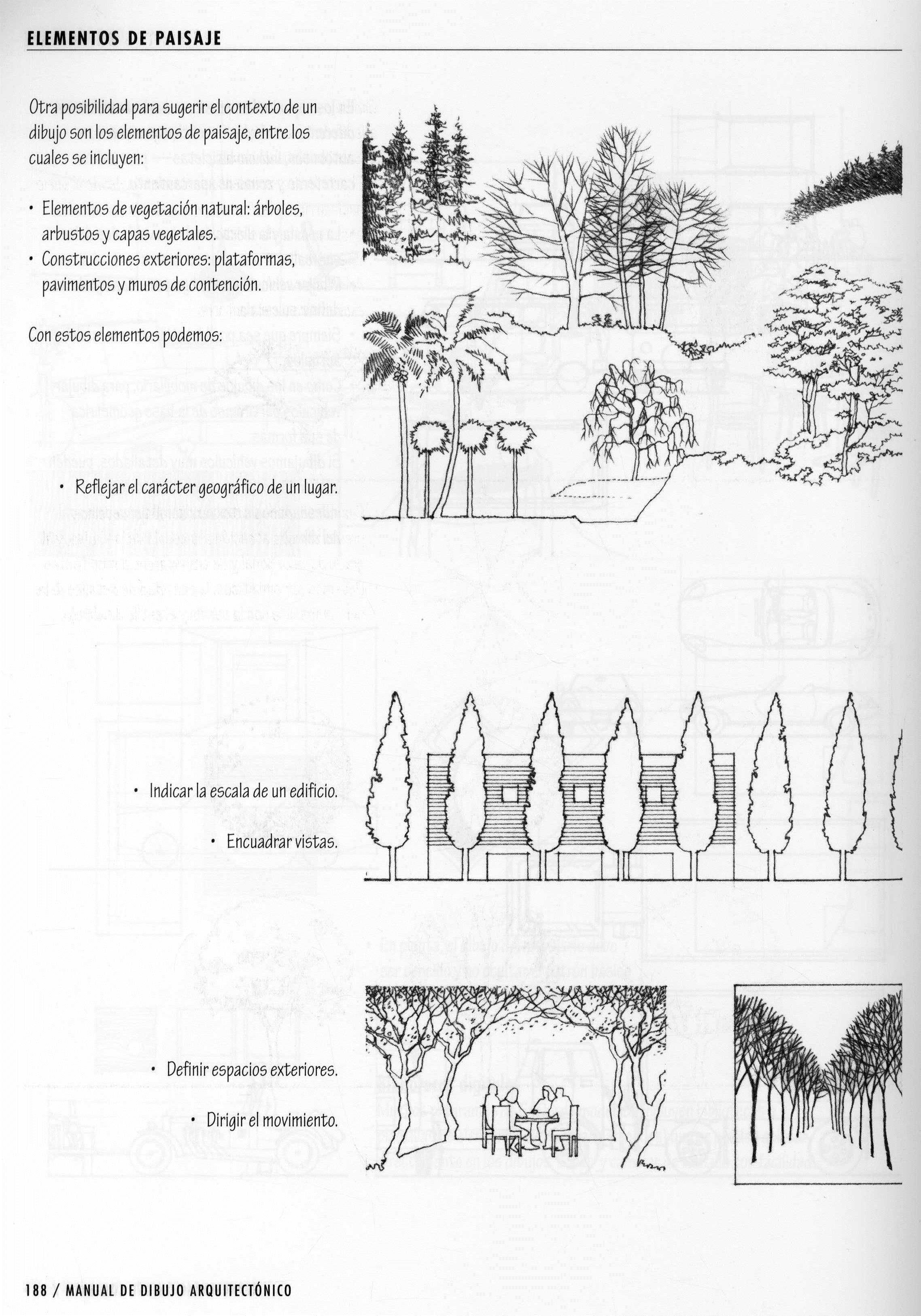 Segun Francis D K Ching Elementos Del Dibujo Dibujos Arquitectura