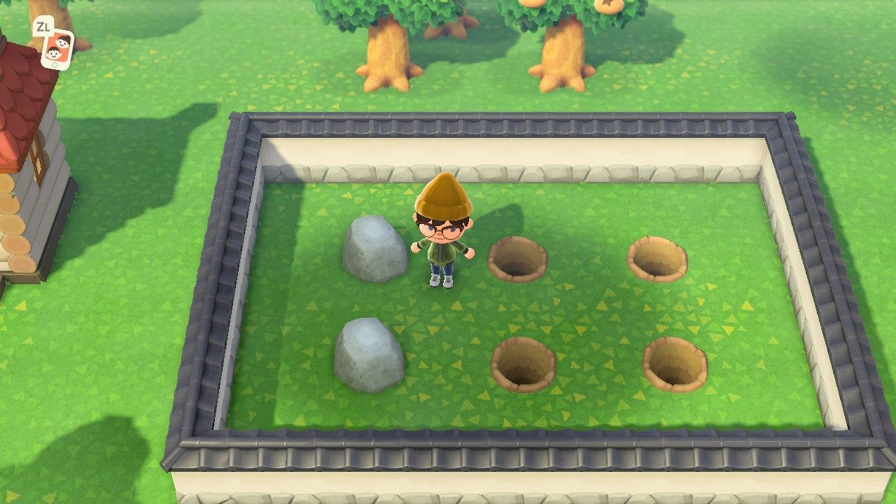How to Move Rocks Rock Garden Guide Animal Crossing