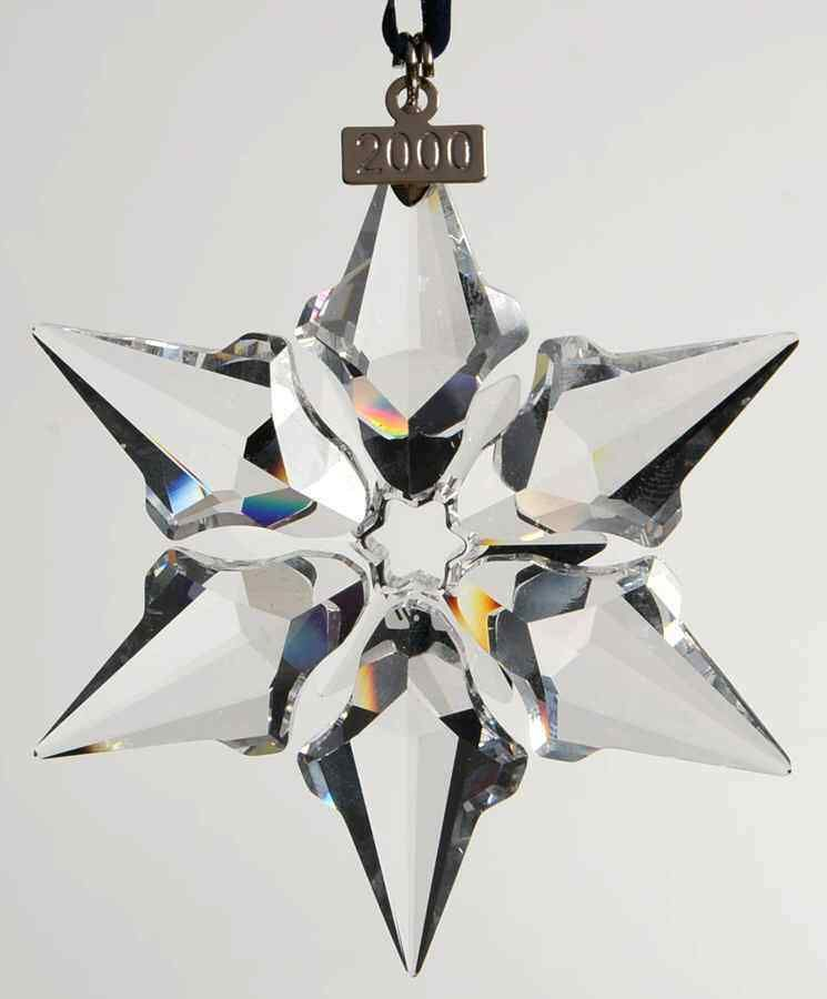 aaf003d29671 eBay  Sponsored SWAROVSKI CRYSTAL Snowflake Ornament 2000 1669509 ...