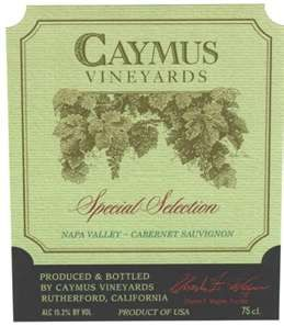 Caymus Special Select, Napa Valley