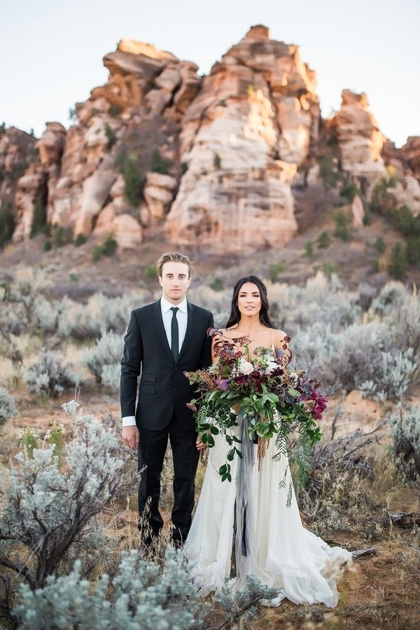 Wedding Venues Candlelit Elopement In Zion National Park
