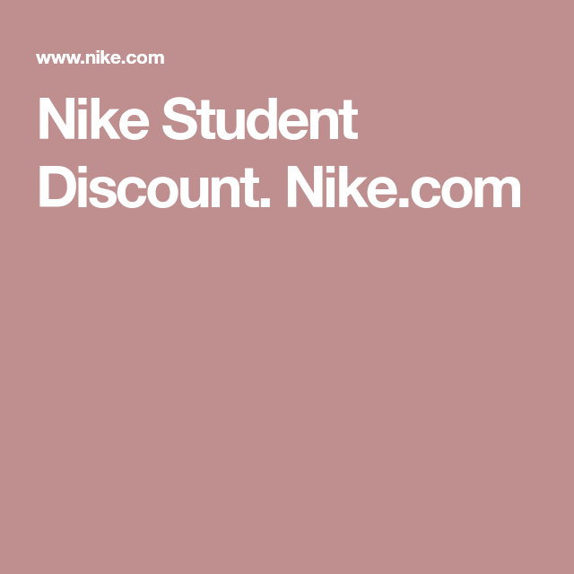 official photos 6d5f7 42ce3 Nike Student Discount. Nike.com