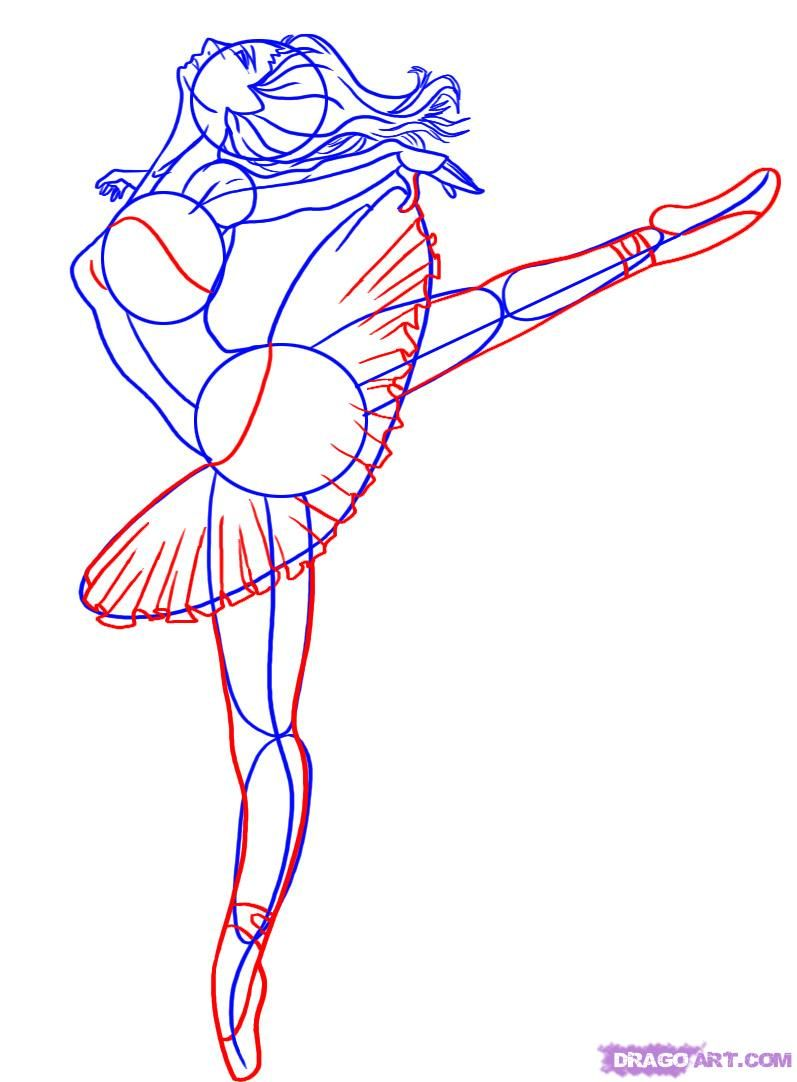 How To Draw Fantasy Anime Drawings Ballerinas Pictures