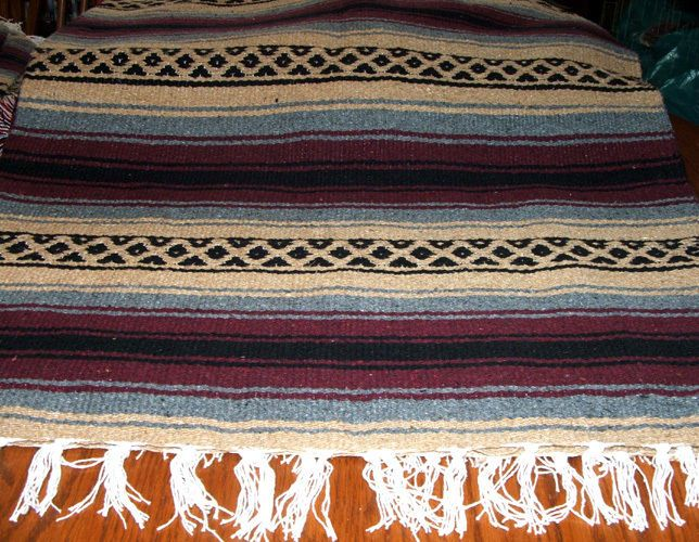 29 95 Will Get You This Large Falsa Style Mexican Blanket