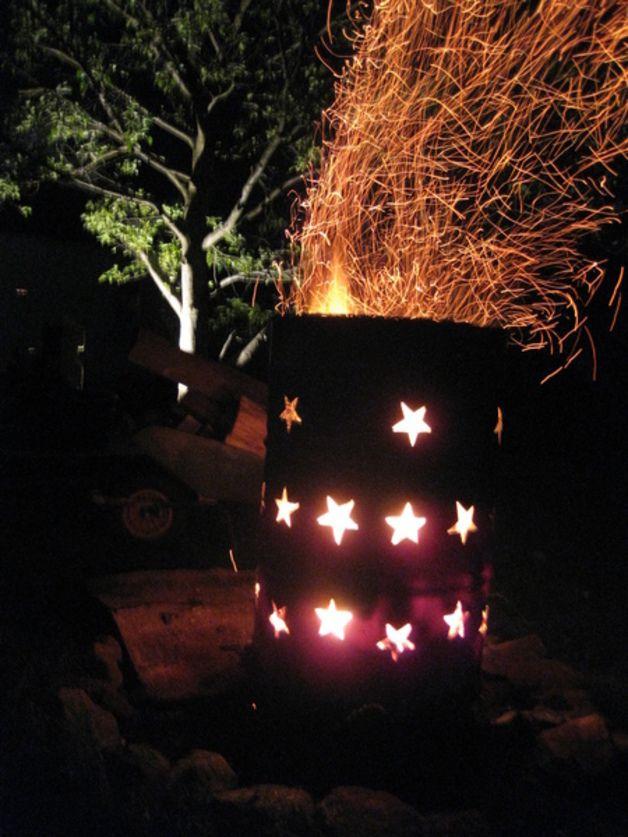 Feuertonne Harlem Feeling - Feuerstelle Feuerschalen und Griller