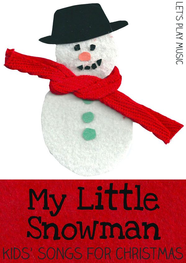 Im A Little Snowman Kids Songs Snowman And Songs