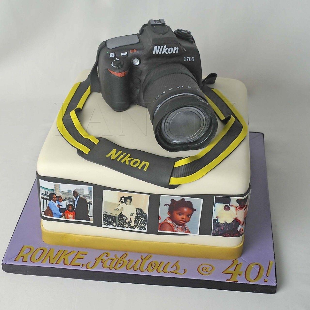 Cake  Nikon Camera ...