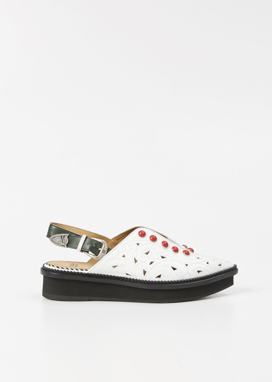 TOGA PULLA Studded Polido Sandal KlQgNbp3GI