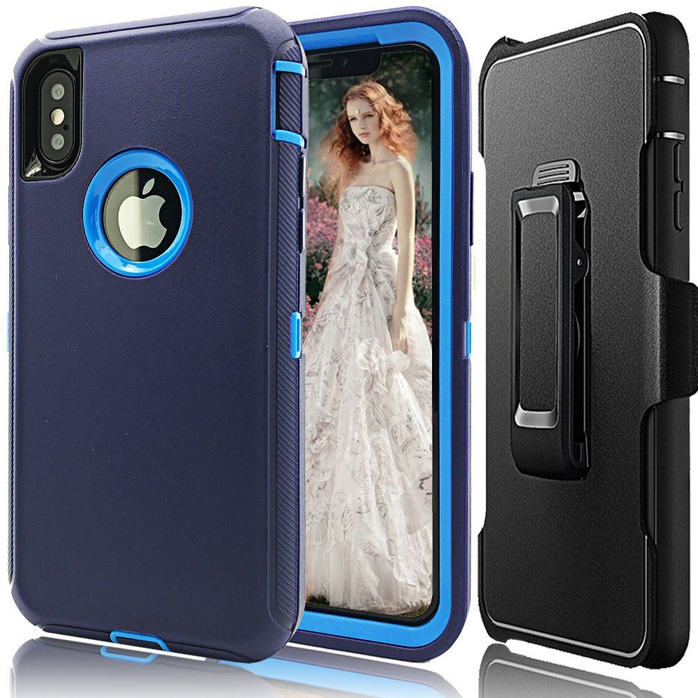 huge discount 1879a 49715 iphone X Holster Case,Auker Defender Series Case for iphone X ...
