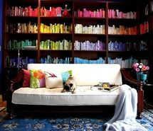 Inspiring picture book, books, color, colourful, decor, decoracao. Resolution: 500x367 px. Find the picture to your taste!
