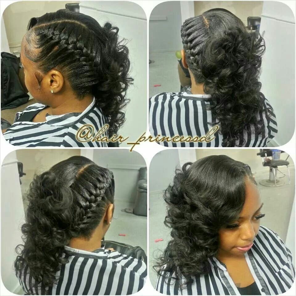 underbraid quickweave long hair