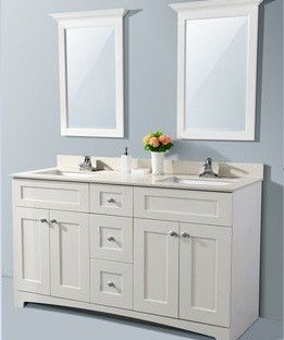 Price: $995.00 Includes: cabinet, rectangular undermount sink, 1.5 cm Quartz tops & backsplash, Dimensions:60″x21″x34″ Solid wood dovetailed drawers ¾ Plywood construction MDF…