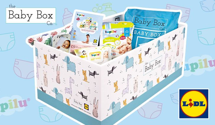 Free baby box from lidl the baby box co baby box