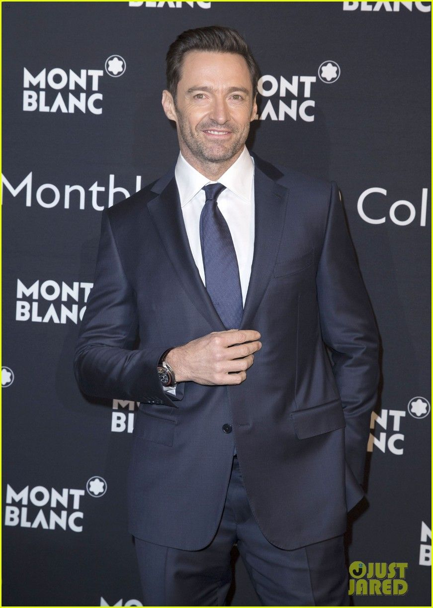 Hugh Jackman Has 'Awesome Night In Geneva' for Montblanc!