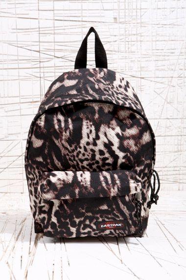 Leopard Eastpak BackpackEastpeak Print Snow NOw8nvm0y