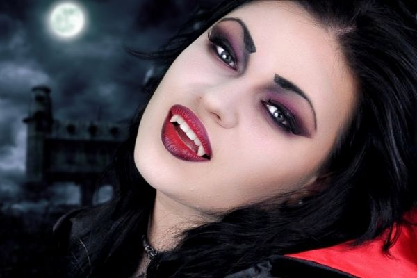 diy vampire makeup ideas simple halloween makeup ideas - Make Your Own Halloween Makeup