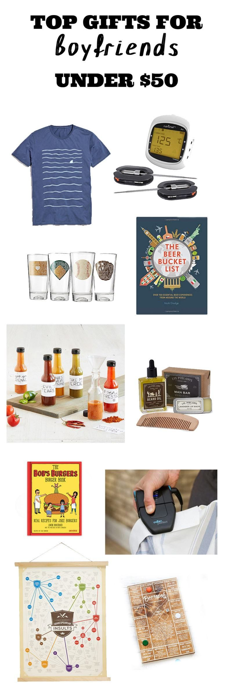 Gifts Under 50 For Him Gift Guide Top Gifts Gifts