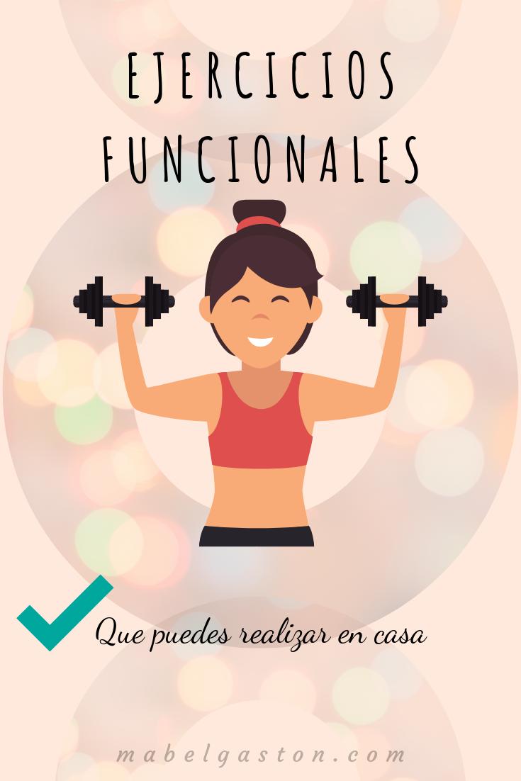 Entrenar en casa es una buena opción si quieres ponerte fit y más saludable. Los ejercicios funciona...