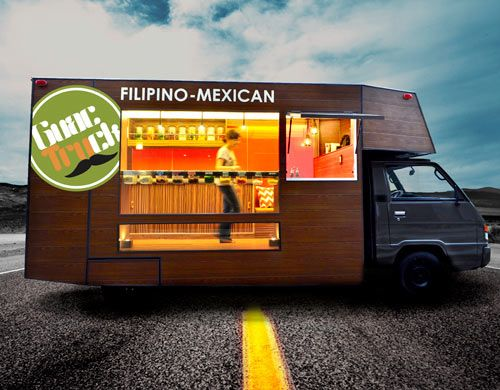 The food truck craze has officially hit Manila, Philippines by way of the Guactruck, a modern mobile eatery full of sustainable initiatives. The truck itself is a used delivery truck that has been outfitted locally with LED and energy-saving lighting.