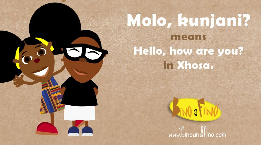 How to say hello in Xhosa ) Africa Greetings Xhosa