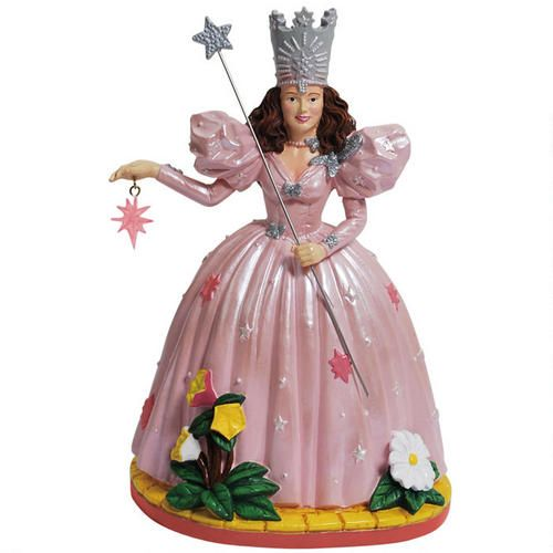 One of my favorite discoveries at WBShop.com: The Wizard of Oz Glinda Star Figurine
