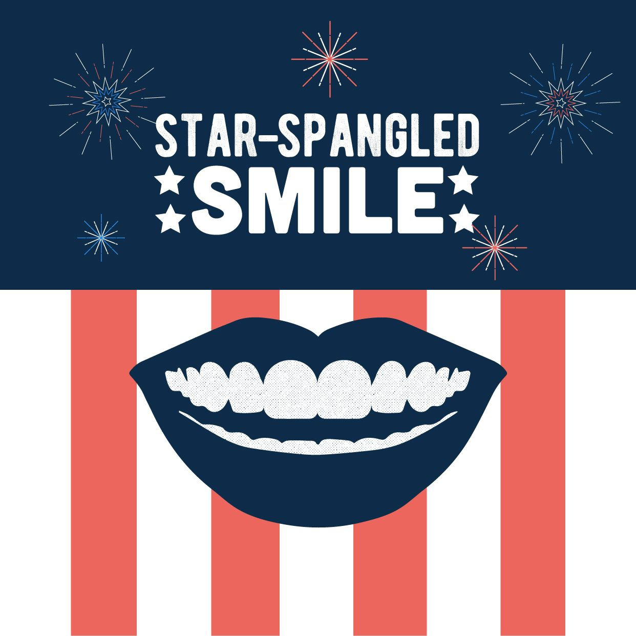 Let That Smile Shine As Bright As The Fireworks Happy 4th Of July Fourthofjuly Dental Fun Dental Posts Dental Marketing