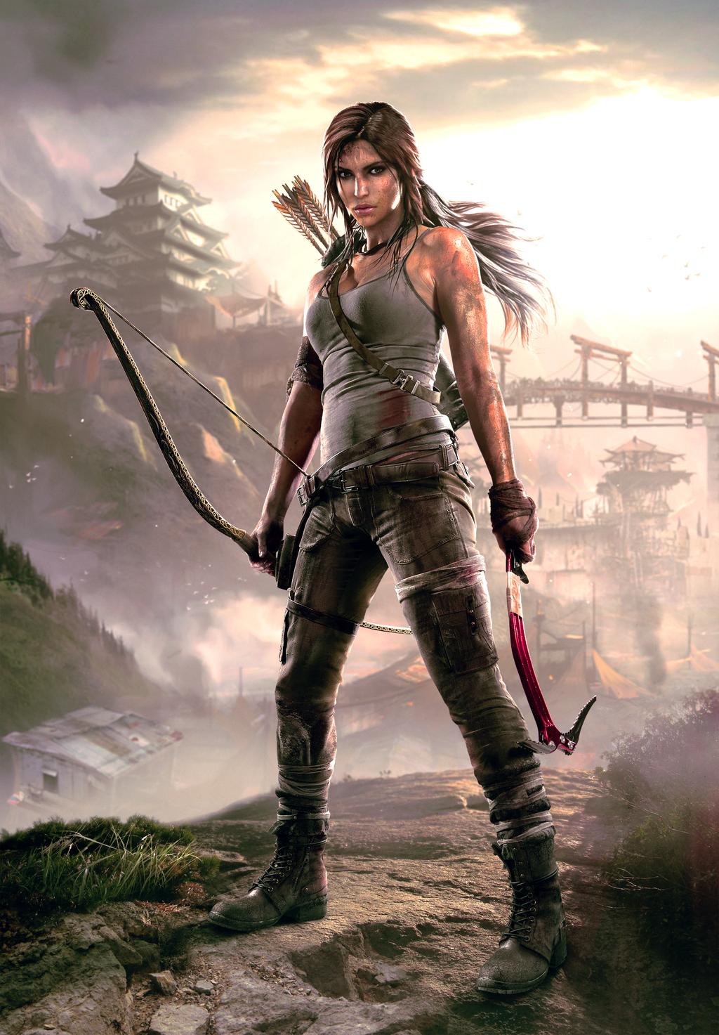 Tomb Raider Shanty Town Hq Wallpaper By Tombraider Survivor