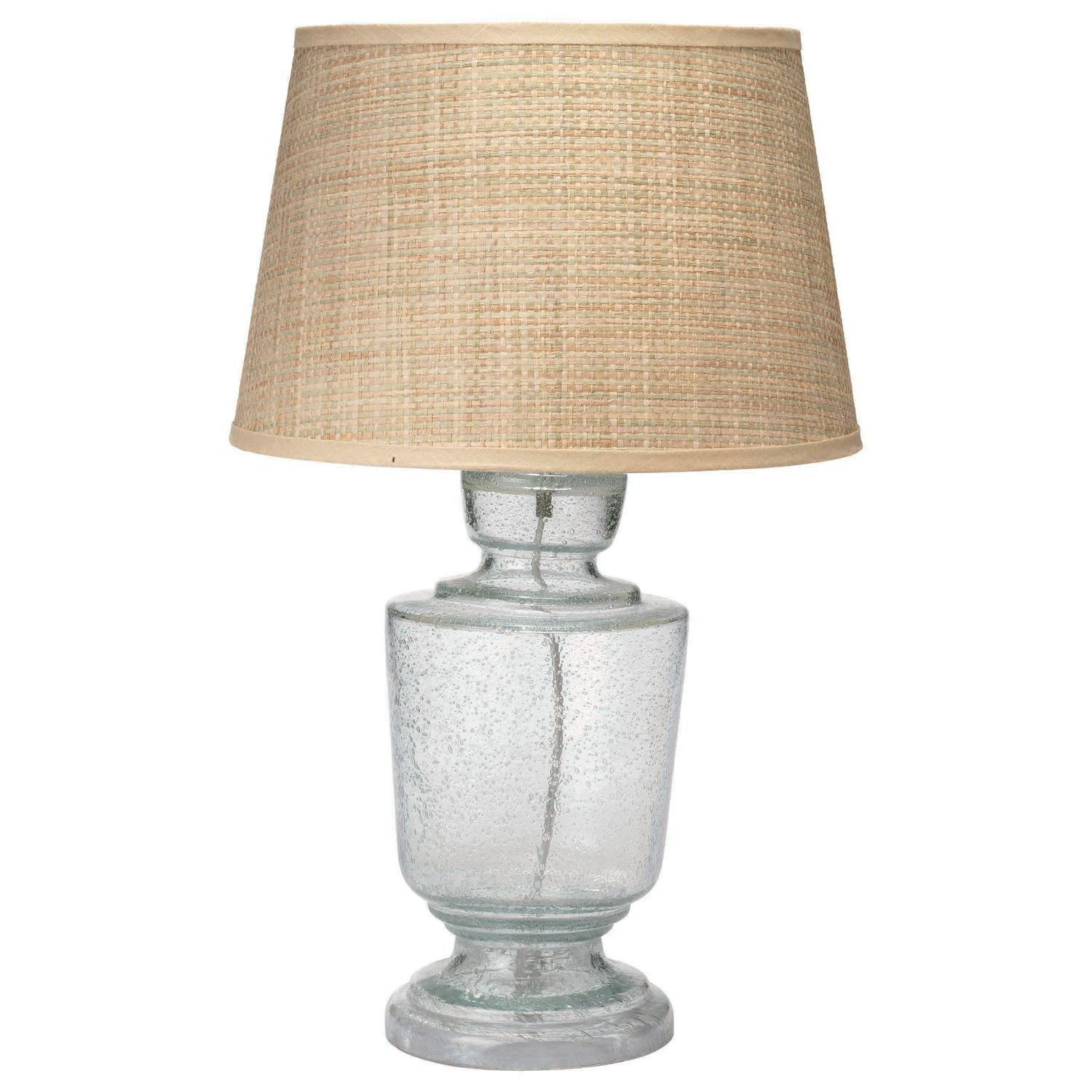 Great Jamie Young Lafitte Clear Seeded Glass Small Table Lamp Base . Also Comes  In Other Colors