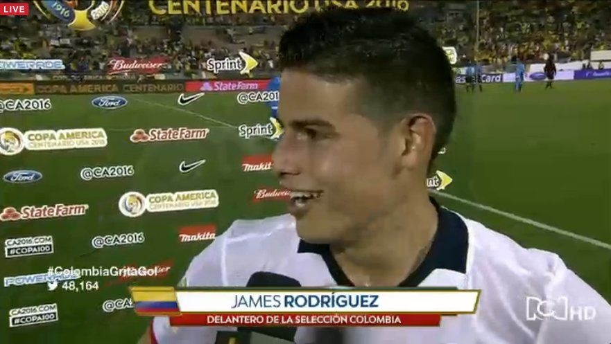 "RT @NoticiasRCN: ""Creo que fue un partido intenso"": James Rodríguez. https://t.co/sfaVNXVKxq #ColombiaGritaGol https://t.co/E0SMEdxr33"