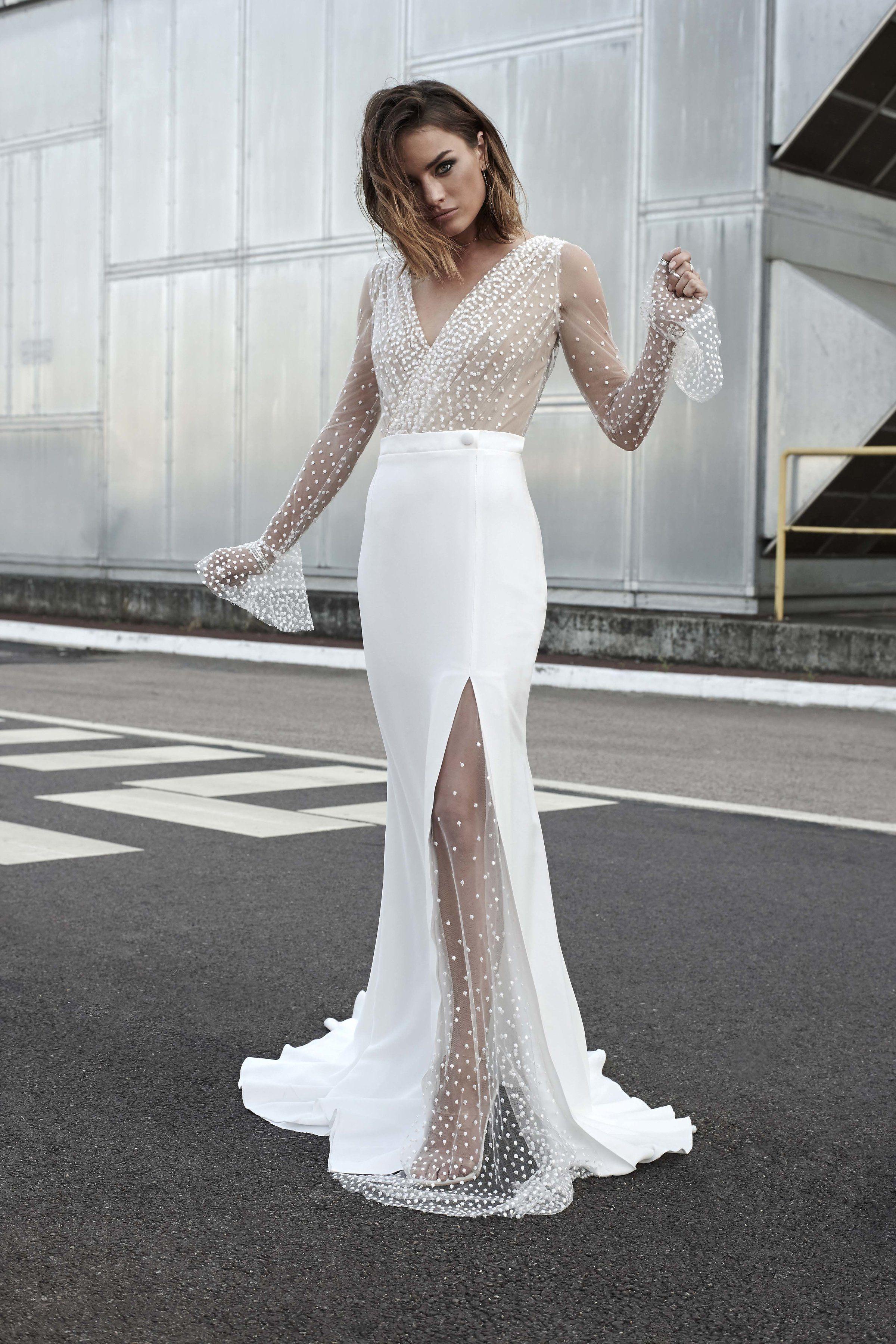 Modern Bride Wedding Dress Joni By Rime Arodaky