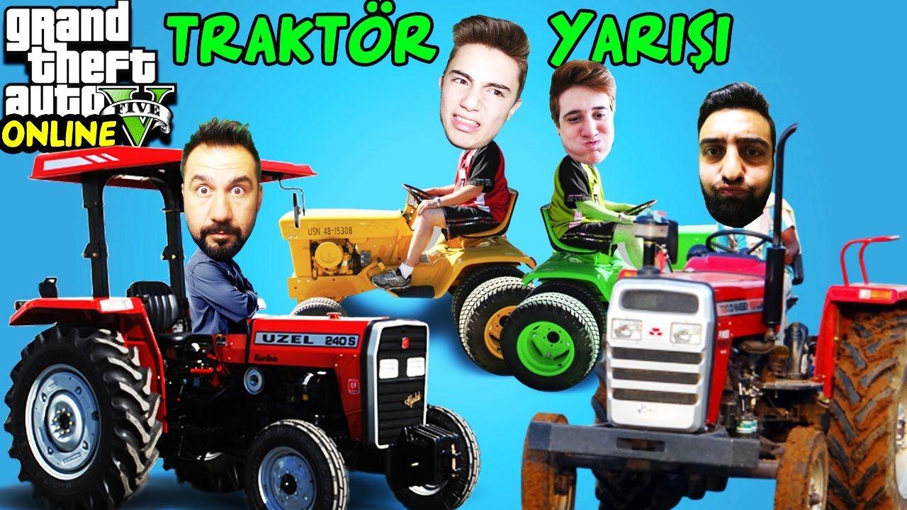 Traktor Yarislari Ekiple Gta 5 Online Traktor