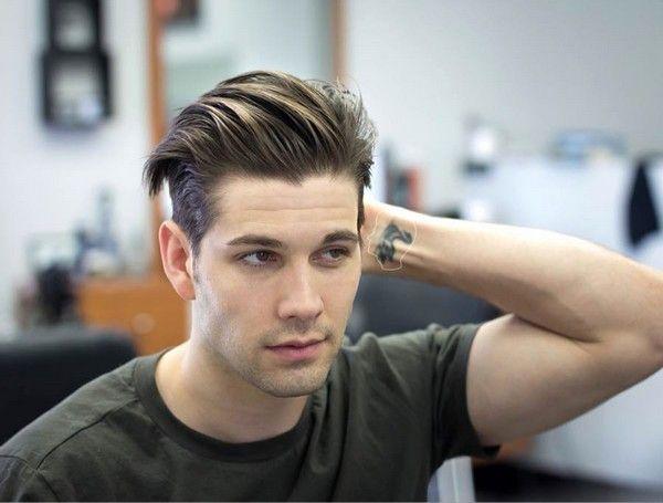 Mens Quiff Haircuts Wavy Hair Men Undercut Hairstyles New Men Hairstyles