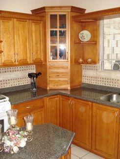 Esq de cocina esquinero pinterest cocinas y comedores - Mueble cocina esquinero ...