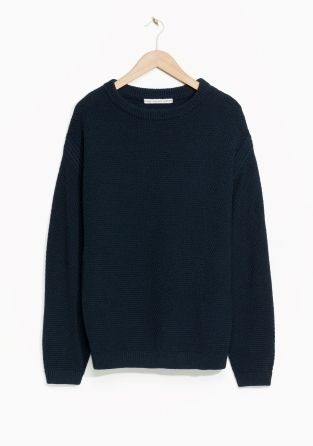 & Other Stories | Knit Wool Sweater | Fashion | Pinterest | Wool ...
