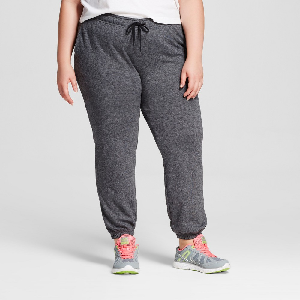 1ca4a031abfa The Women s Plus Size French Terry Jogger from C9 Champion is a classic  pant that is ideal for workouts or errands. This sweat pant is great to  throw on ...