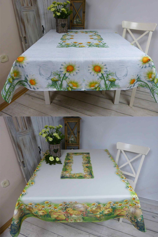 Wiosenny Obrus Wielkanocny 130x170 180 Cm Wielokolorowy 100 Poliester Home Decor Decor Furniture