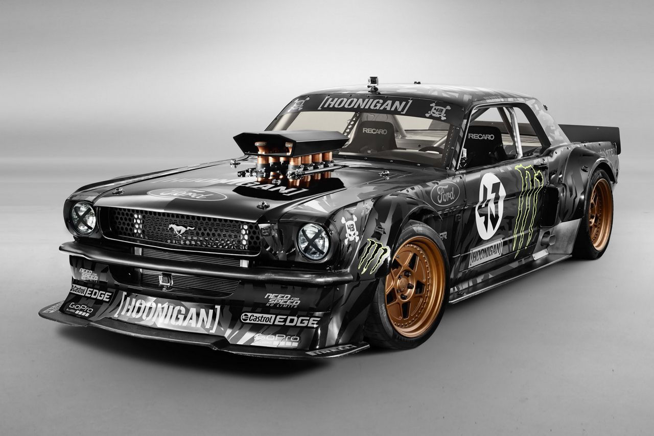 Ken Block Chooses the 845HP 1965 Ford Mustang AWD Monster for ...