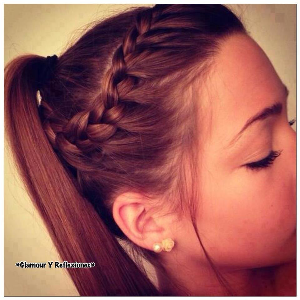 Schön aussehende Side Braid Frisuren für den Sommer #sidebraidhairstyles