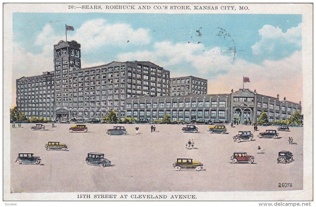 Image result for sears roebuck store on 15th & cleveland in kansas city, mo images