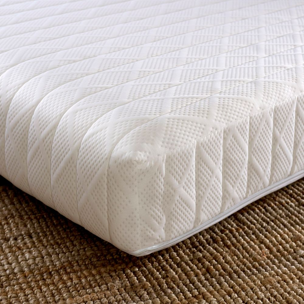 Touch 7 Zone Memory Foam Orthopaedic Rolled Mattress European