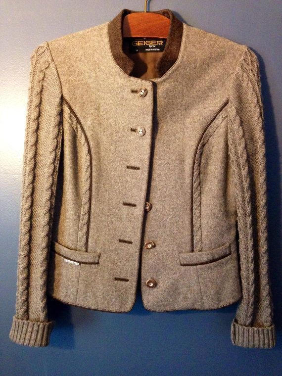 89bfc96fefb5bf Women s Geiger of Austria Brown Wool Tailored by DaVinciJane