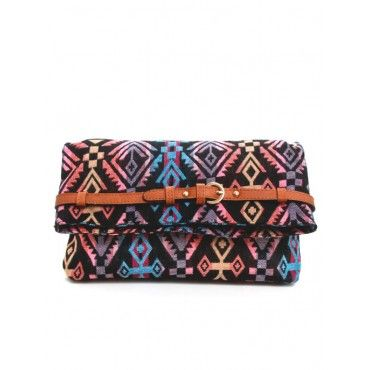 Tribal Design Crossbody Bag | Bags - Bijuju